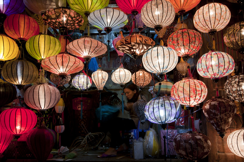 Silk Lanterns of Hoi An, Vietnam