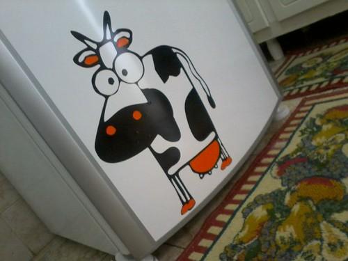 Adesivo de geladeira!! by ♥Paninhos em forma de amor♥