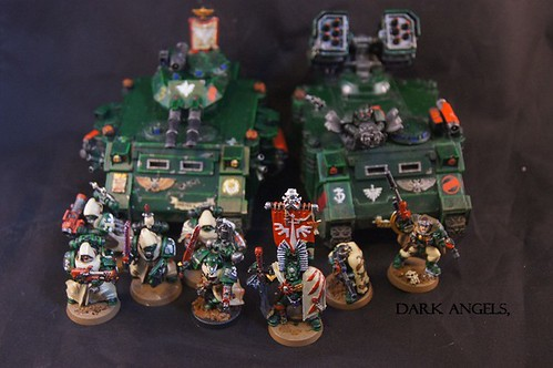 Dark Angels army