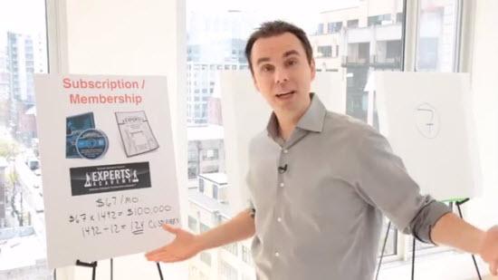 ブレンドンバーチャード(Brendon Burchard)が、もっとも儲かる12種類の情報商品のつくりかたと、その販売方法を明かす3つの動画を無料で見ることができるトレーニング講座『トータル・プロダクト・ブループリント』(Total Product Blueprint)
