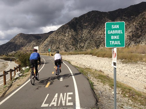 San Gabriel River Trail 2012