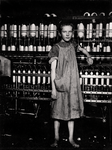 Spinner in New England Mill, 1913