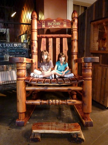 Little Kids in a Big Chair