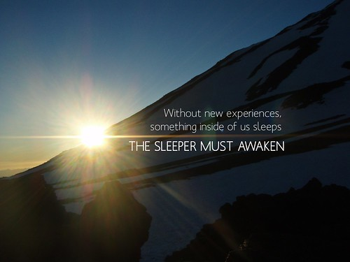 The Sleeper Must Awaken