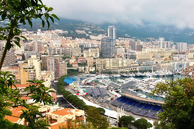 View of Monte Carlo, Monaco