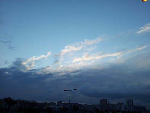 Bon dia, menys fred i més tapat, des de el Bon Pastor #barcelona