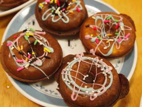 バレンタイン 手作りドーナツ クロア