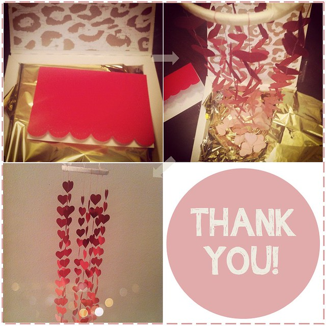 Valentine Thank You Gift