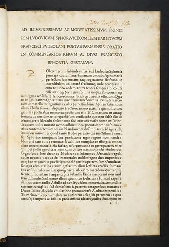 Ownership inscriptions in Simoneta, Johannes: Commentarii rerum gestarum Francisci Sfortiae