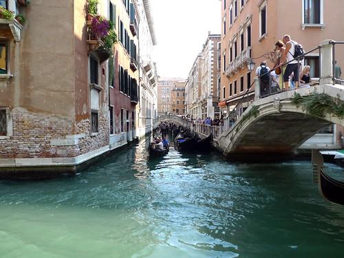venice canals gondola romantic