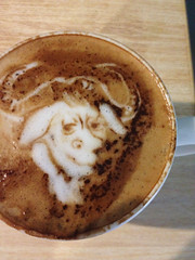 Today's latte, GNU.