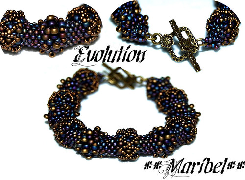 Brazalete Evolution de Heather Collins by HADA-Maribel