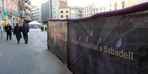 Passeig plaça Major Sabadell