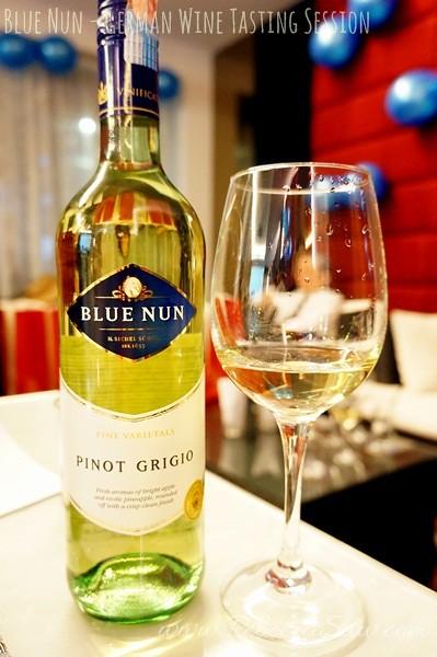 BLue Nun wine tasting - German wines-001