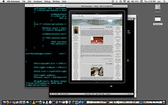 Misuse of an ipad emulator
