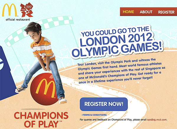 Win a trip to the London 2012 Olympics!