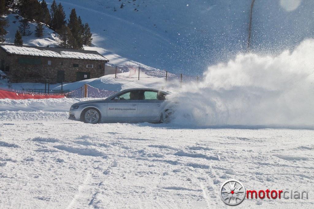 Audi A4 en Audi Driving Experience