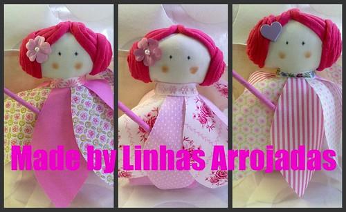Mosaico fadas de meninas by ♥Linhas Arrojadas Atelier de costura♥Sonyaxana