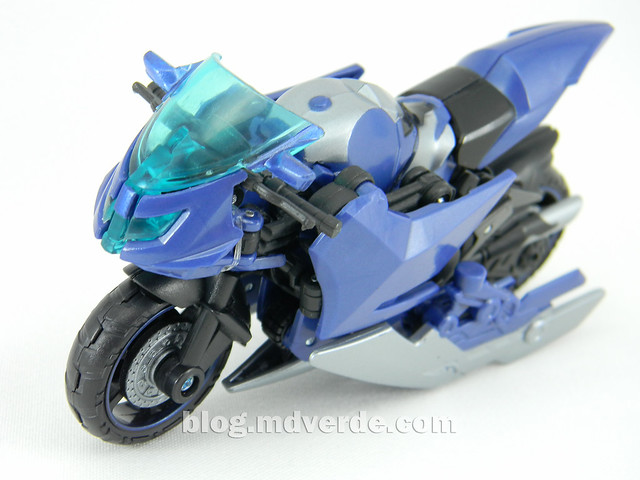 Transformers Arcee Deluxe - Prime First Edition - modo alterno