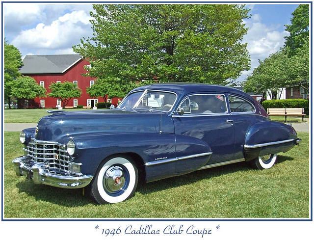 1946 Cadillac Club Coupe | Flickr - Photo Sharing!  1946 Cadillac C...