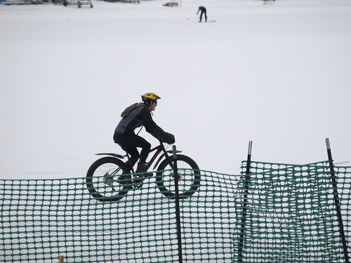 The snow bike ... by Dr. Farnsworth