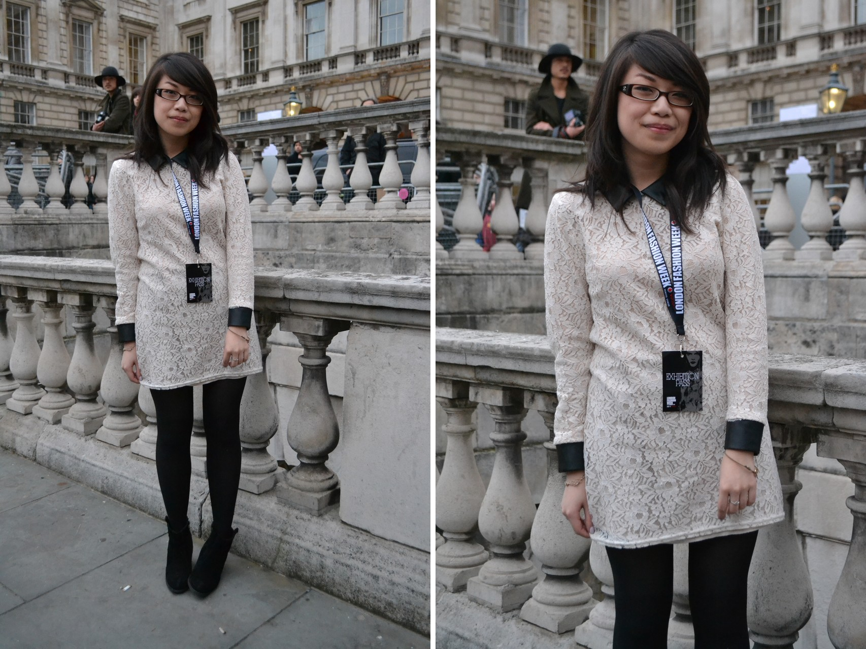 daisybutter - UK Style Blog: london fashion week, aw12, what i wore, monochrome outfits, mulberry alexa