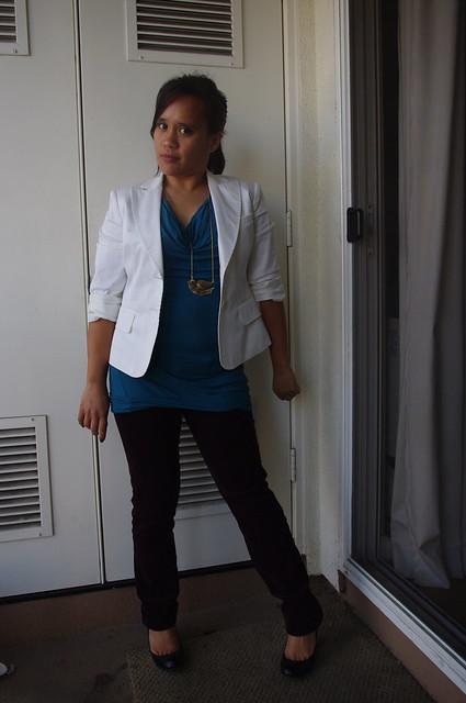 OOTD: White Jacket