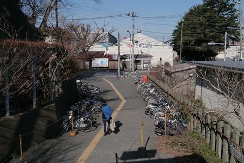 JR田浦駅周辺の貨物線跡