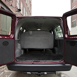 We can remove bench seats for cargo space