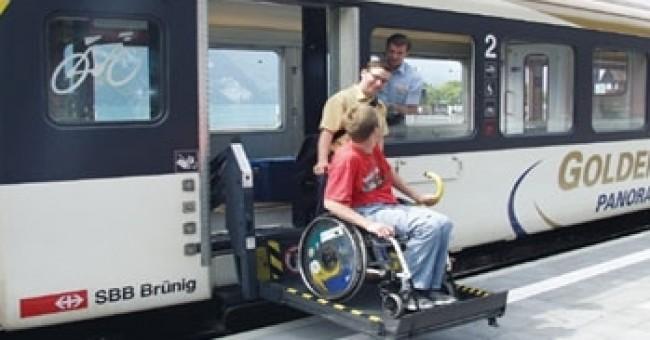 Cestovanie vo Švajčiarsku pre telesne postihnutých