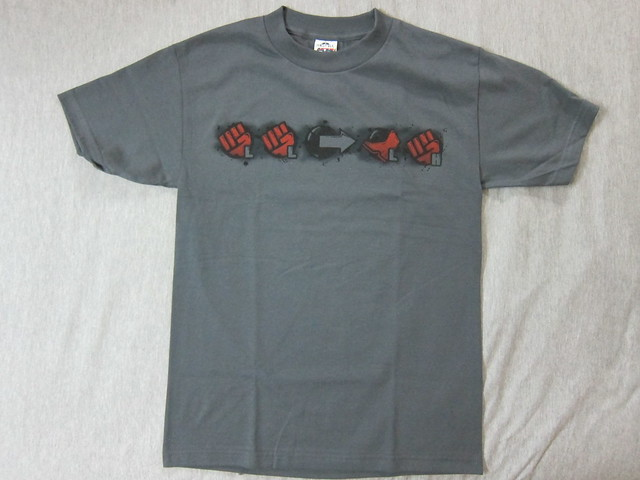 Akuma's Heavenly Combo T-Shirt - Front View