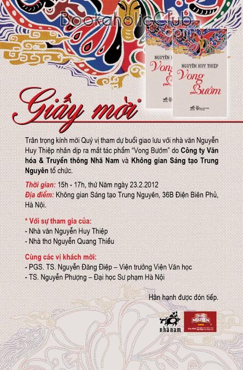 Giay moi Nguyen Huy Thiep