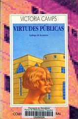 Victoria Camps, Virtudes públicas