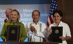 Firma de Acuerdo Transfronterizo de Hidrocarburos en el Golfo de México