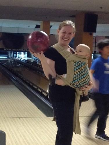 Babywearing Bowling!