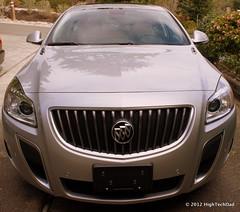 wheel(0.0), automobile(1.0), automotive exterior(1.0), vehicle(1.0), automotive design(1.0), grille(1.0), buick regal(1.0), bumper(1.0), land vehicle(1.0), luxury vehicle(1.0),