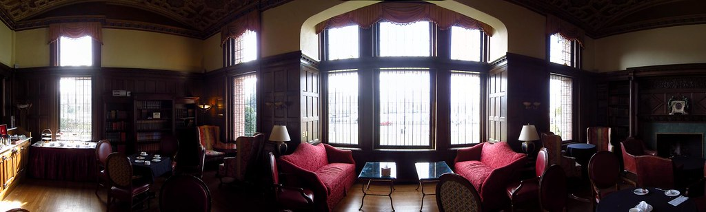 The Library, Fairmont Empress Hotel, Victoria 2012