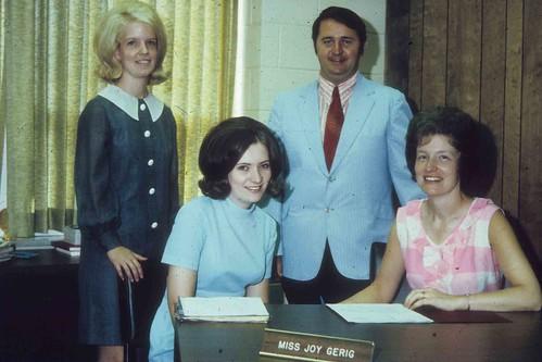 1973 CS Staff J Gerig, S Strunk, D Baxter, J Seawell