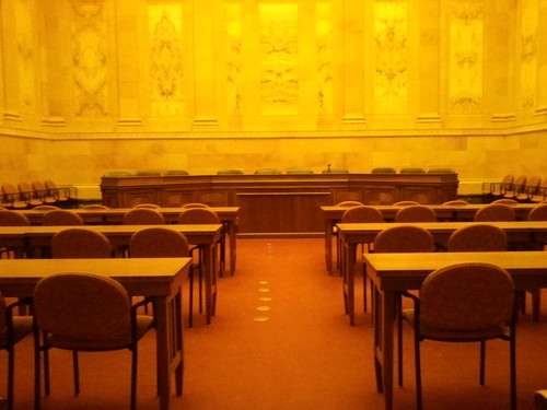 Yellow tones in Caucus room #photoaday2012 by wendysoucie