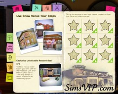 Host Sims Live Show Venue - Reward