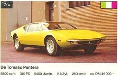 De Tomaso Pantera (1971)