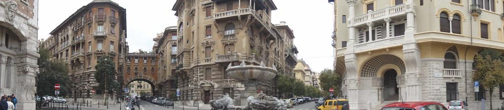 Quartiere Coppede Panorama
