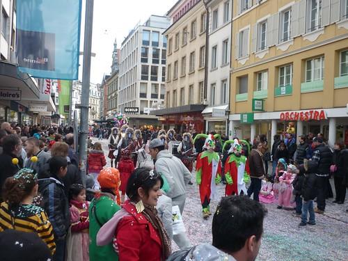 Le carnaval de Bienne 2012