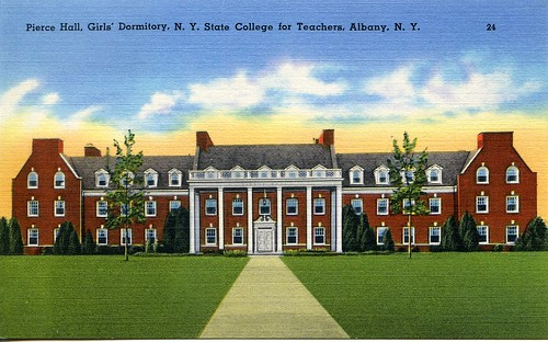 Pierce Hall, Girls' Dormitory. N.Y. State College for Teachers, Albany, N.Y.