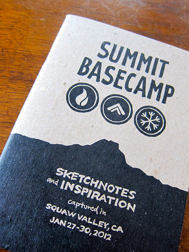 Summit Basecamp: Sketchnote Book: Cover Detail