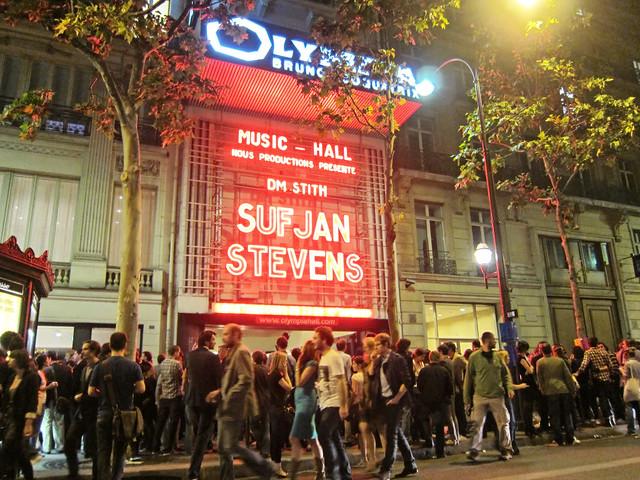 Sufjan Stevens Concert_Paris 2011