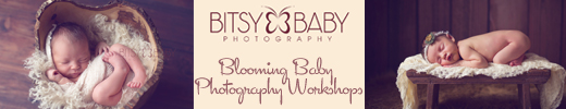 baby photography workshop banner