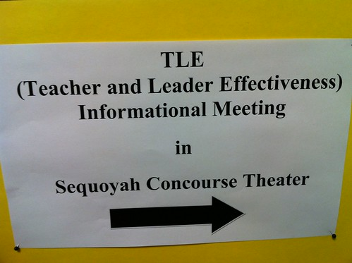 Teacher and Leader Effectiveness Informational Meeting