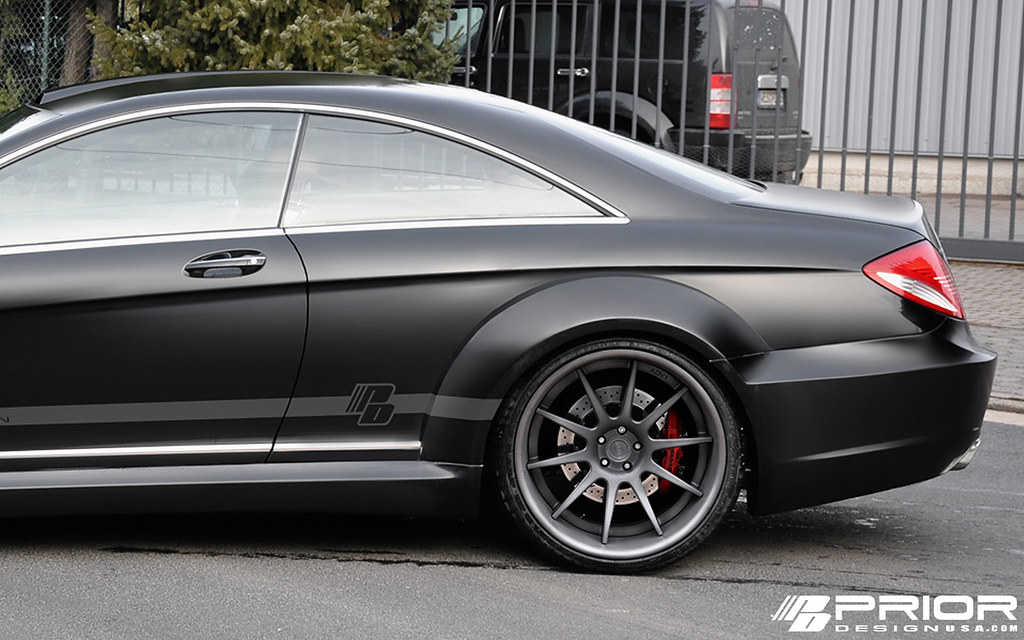 mercedes cl w216 pd black edition widebody prior design. Black Bedroom Furniture Sets. Home Design Ideas
