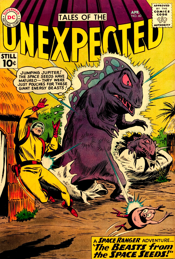 Tales of the Unexpected #60 (DC, 1961) Bob Brown cover